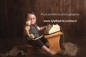 photographe pour bébé trop mignon