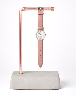 concrete watch holder