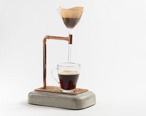 Beton Kaffeezubereiter Coffee Maker für Pour Over Filterkaffee
