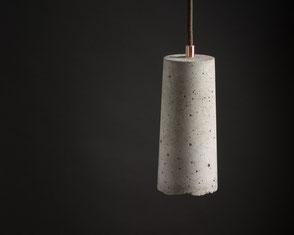 Betonlampe im BetonDesign, Beton Pendelleuchten Lampshade #2