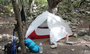 Camping in Südamerika