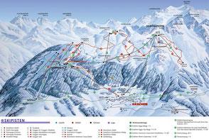 Grächen Skigebiet