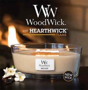 Bougies Woodwick - commande en ligne