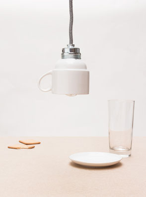 Pendant light 'Cup Light' designed by Lucas & Lucas - available in our webshop