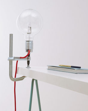 Clamp light - Product design by Sander Lucas - Lucas en Lucas
