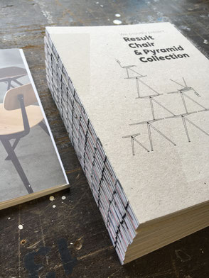 Result Chair & Pyramid Collection - Ahrend x HAY - Art direction and Book design by Marijke Lucas - Lucas en Lucas