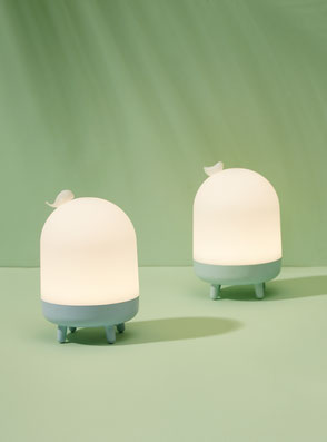 Animal Night Light 'Whale and Bird' designed by Lucas & Lucas for MINISO