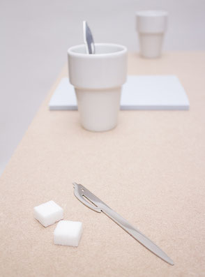 Coffee stirrer 'Pen Spoon' designed by Lucas & Lucas - available in our webshop