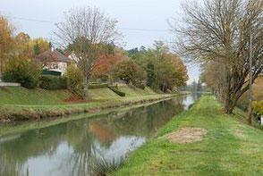 Le canal de Berry à Châtillon-sur-Cher