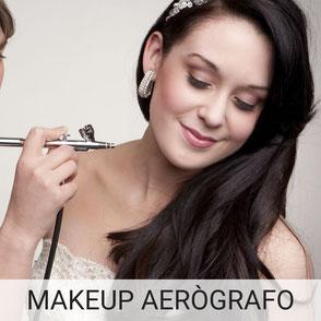 Maquillaje con aerógrafo para novias, duración 24 horas