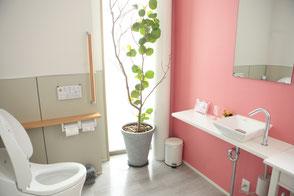 かわいいトイレが人気な歯医者