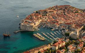 Altstadt Dubrovnik Flottillensegeln Sunsail