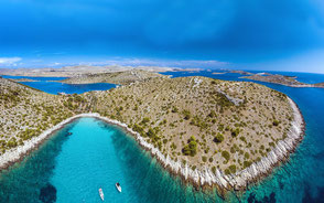 Flottillensegeln Kroatien Kornaten ab Zadar
