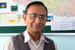 Vishnu Prashad Sharma Gyawali, Secretary