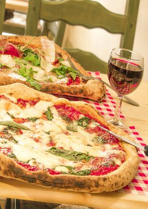 Pizza Margherita Verace, la bottega della pizza à chaussée de Bruxelles 90 Casteau