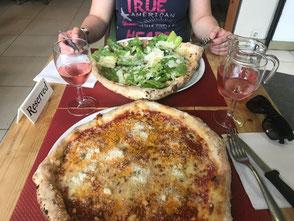 La Bottega della pizza, chaussée de Bruxelles, Casteau, Soignies, Hainaut, Belgique, les meilleures pizza de la région, pizza bolognese maison et pizza suggestion au carpaccio et laitue romaine