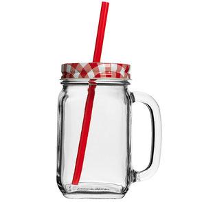 Werbeartikel Glas mit Deckel Country Jar bedrucken