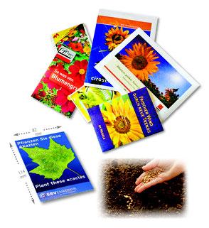 Werbeartikel Samentüten Samentütchen