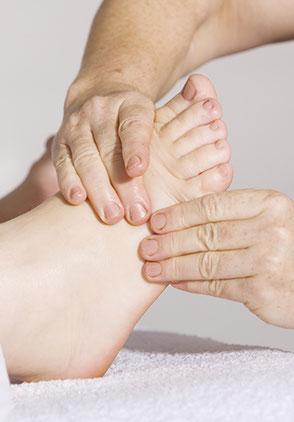 Fuß-Reflexzonenmassage