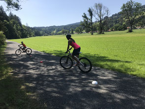 Technik Training im Mountainbike Kurs
