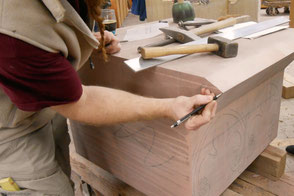 Tailleur de pierre, aux ateliers de l'oeuvre notre dame - Du son pour changer