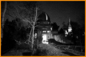 vue nocturne de l'observatoire de Strasbourg - Du son pour changer