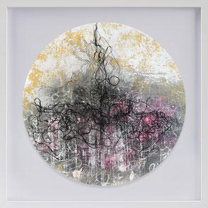 Katharina Lehmann, Transcendent Shapes no. 6, Ø 33 cm, 2019