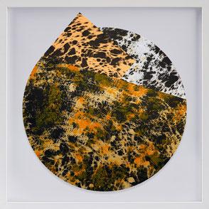 Katharina Lehmann, Transcendent Shapes no. 8, Ø 33 cm, 2019