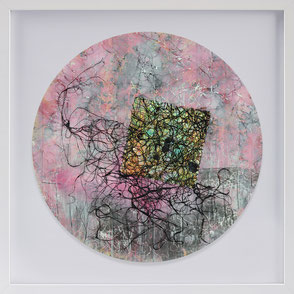 Katharina Lehmann, Transcendent Shapes no. 5, Ø 33 cm, 2019