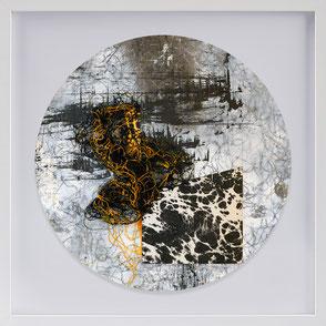 Katharina Lehmann, Transcendent Shapes no. 4, Ø 33 cm, 2019