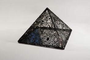 Katharina Lehmann, Future 2025 · Acrylic, thread, metal, mirror