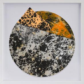 Katharina Lehmann, Transcendent Shapes no. 7, Ø 33 cm, 2019