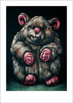 gemalte Maus