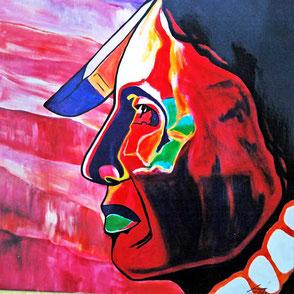 indianer gemalt