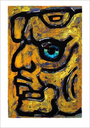 wertvolle Malkunst Mayazeichen