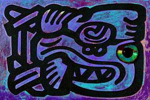 Maya-Zeichen IX  • Walter Gerstung