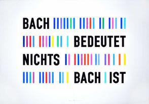 Bach grafisch