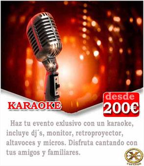 karaoke eventos Cádiz