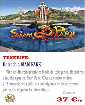 entradas de grupo a Siam Park Tenerife