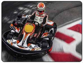 correr una carrera de kart