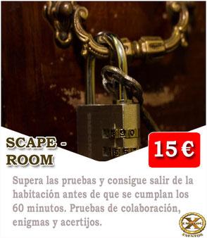 jugar Scape room en Málaga