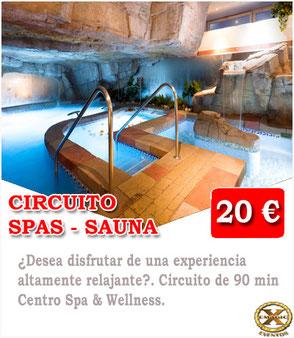 saunas spas en Málaga