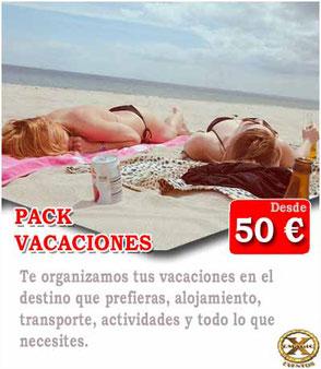 pack dia en Málaga