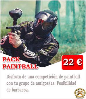 paintball en Las palmas