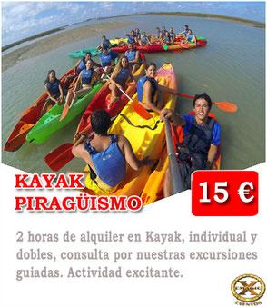 ruta en kayak lanzarote