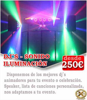 alquiler de sonido para comuniones en Cádiz