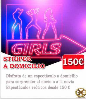 striper a domicilio en Málaga