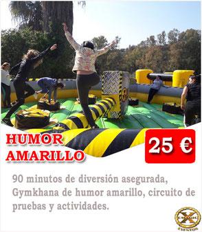 humor amarillo en Málaga