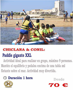 paddle surf xxl en Cádiz