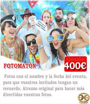 fotomatón bodas Cádiz